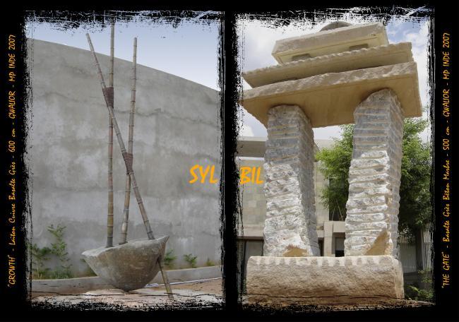 résidence d'artistes, Gwalior, MP, Inde