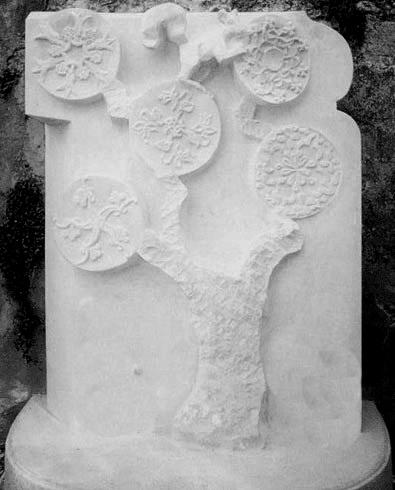 France, Oudon, calcaire Tervoux
