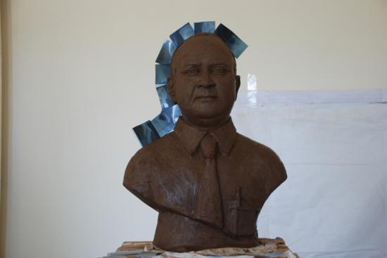 Dr Banerjee, argile pour plâtre, Inde