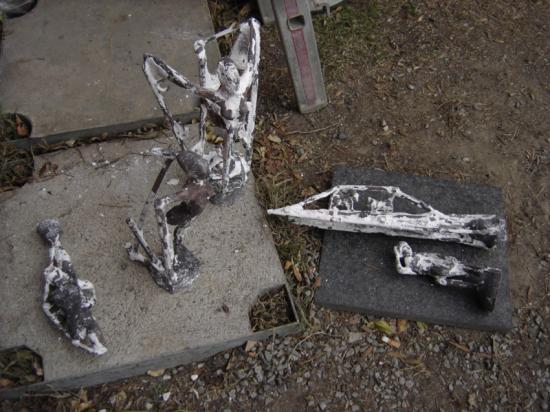 Bronzes bruts