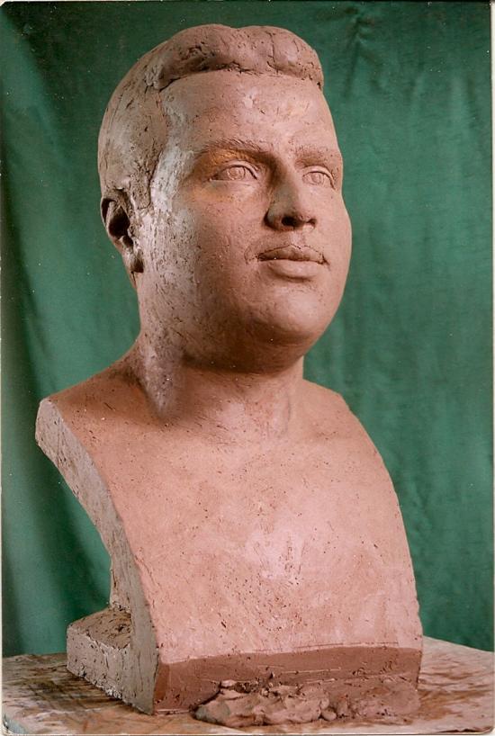 Dr Wahbe, argile pour plâtre, Syrie