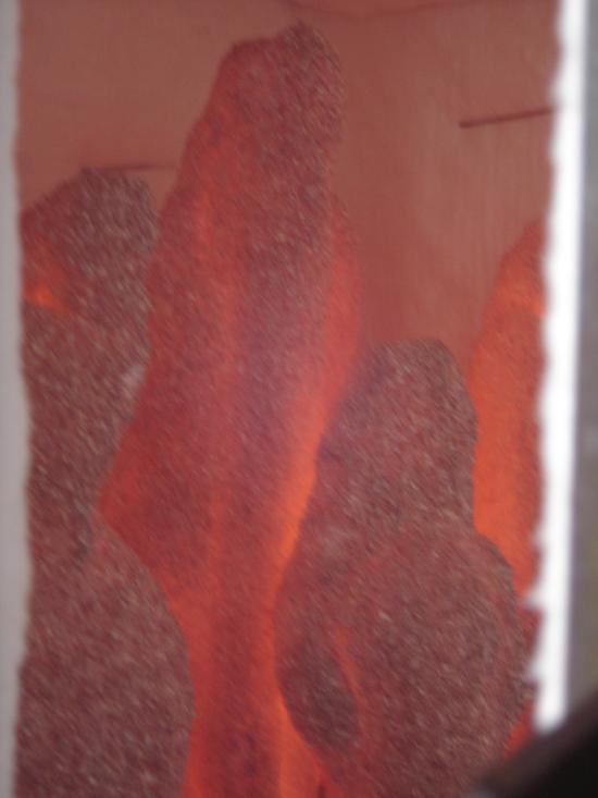 Moulages dans four de décirage