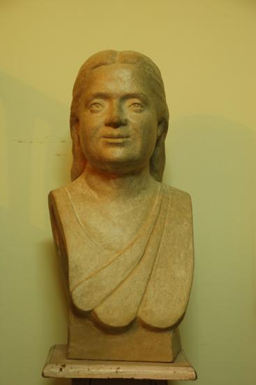 Mme Chaurasia, plâtre, Inde, 2009