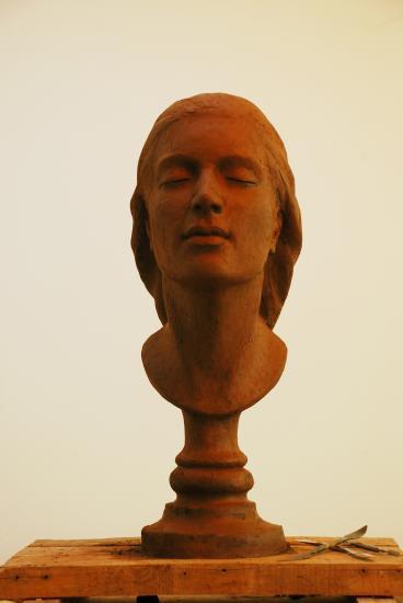 Le parfum, argile pour bronze