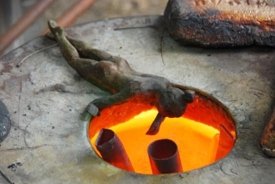 Fusion du bronze