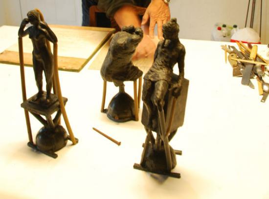 Stage bronze