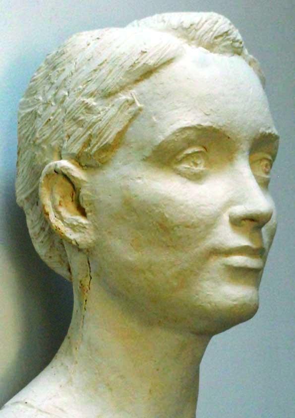 Anne, plâtre