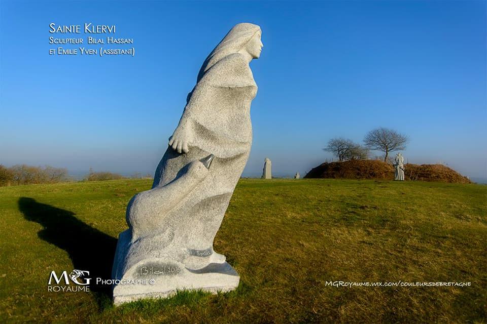 Ste Klervi, La Vallée des saints, Bretagne