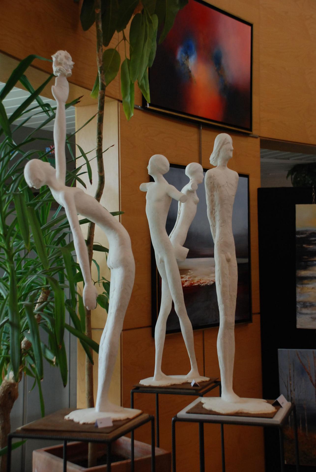 Danses, h: environ 1m plâtres pour bronze sur commande