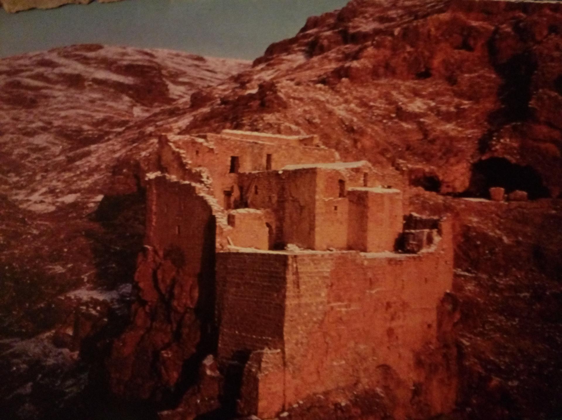 Monastère St Moïse l'éthiopien, VIe siècle, Syrie