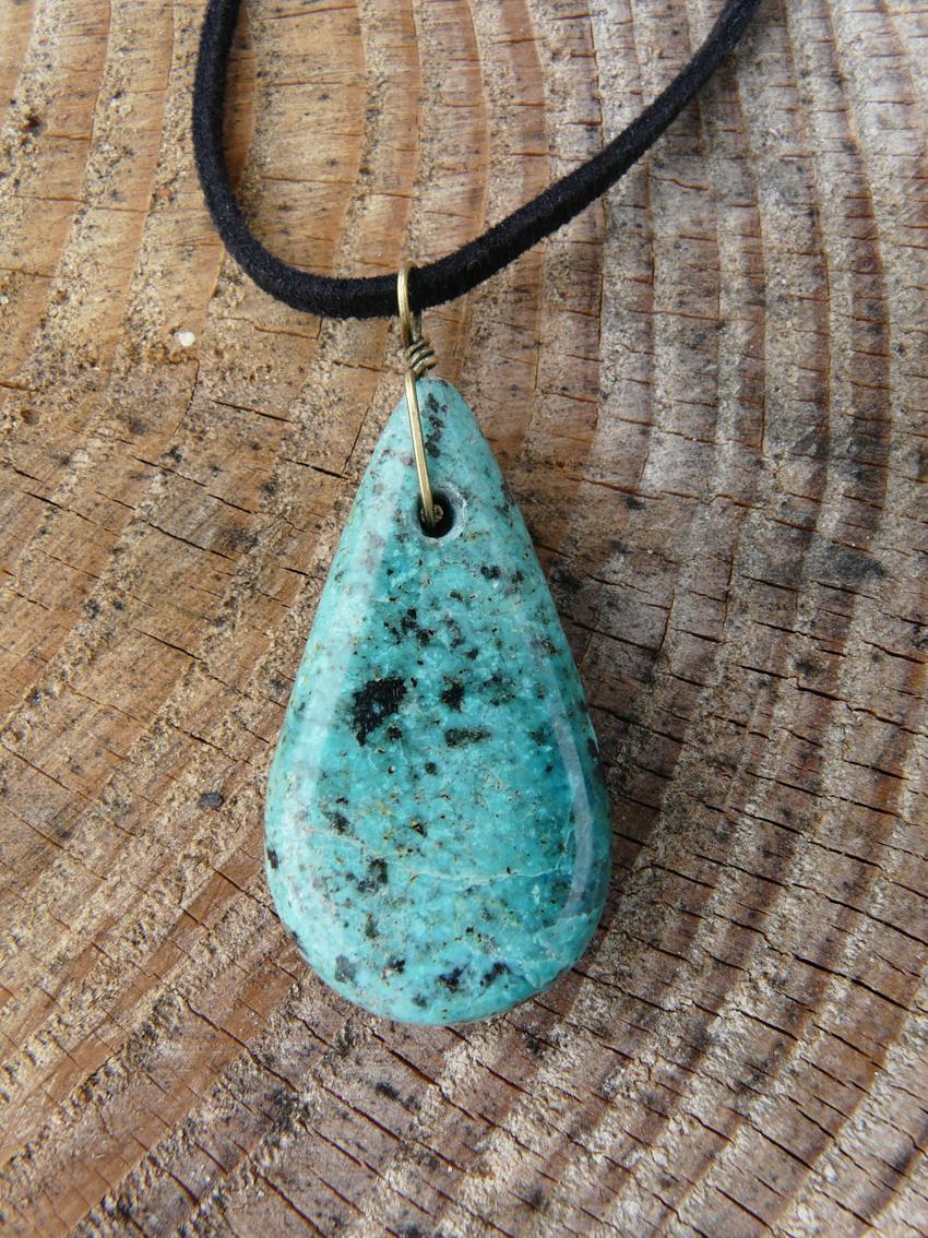 Turquoise d'Afrique -Réf Turc01
