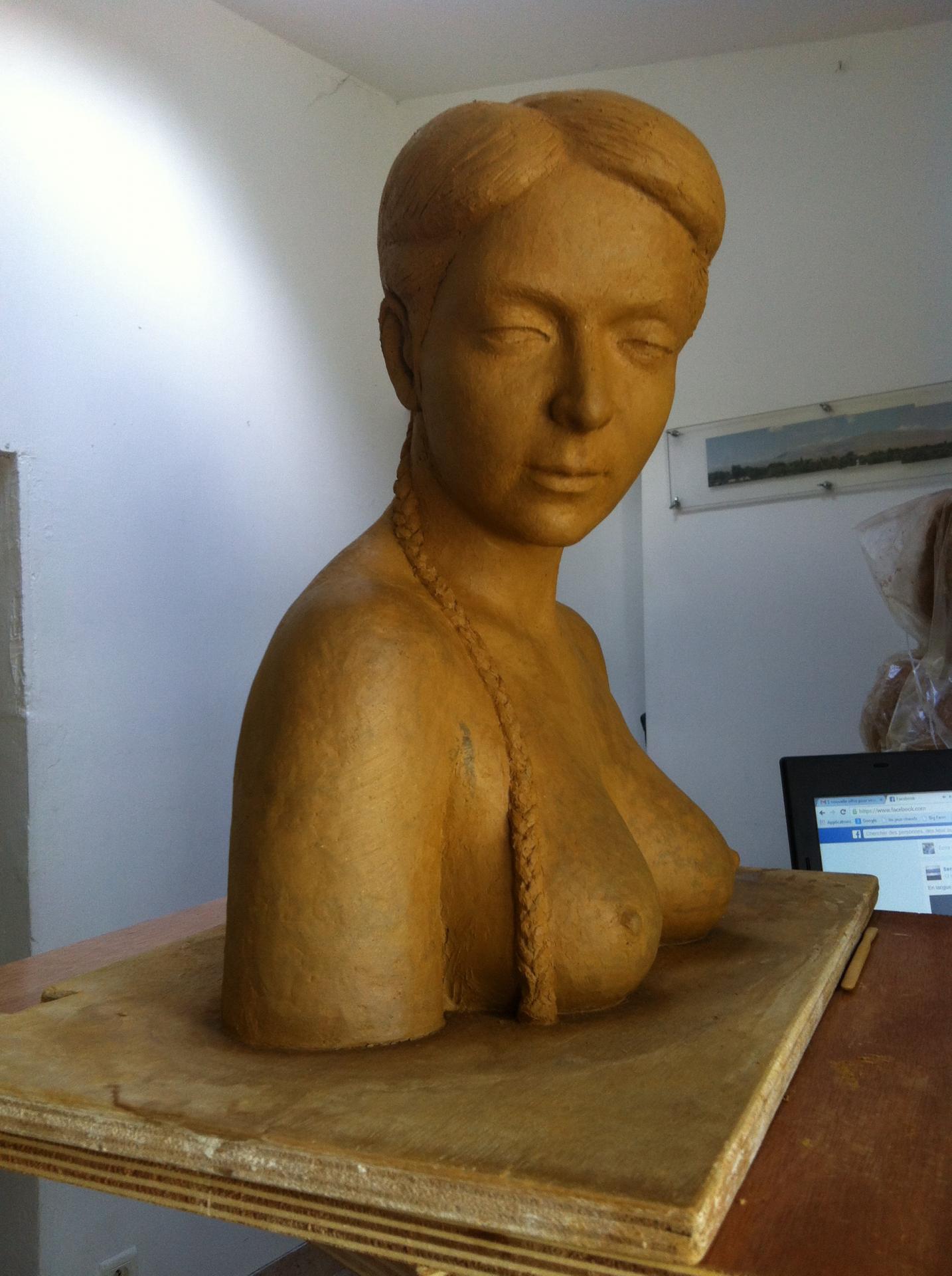 Marion, argile pour plâtre